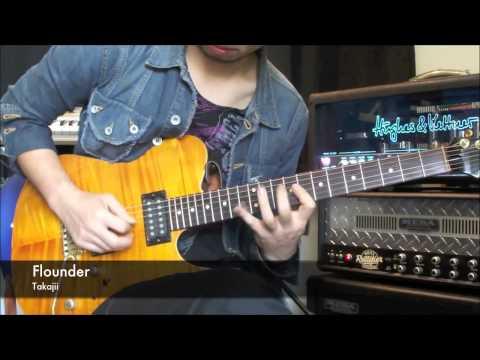 Flounder / Takajii の演奏動画を公開しました。