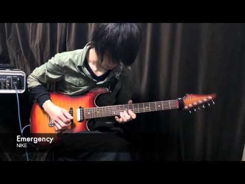 Emergency / NIKE の演奏動画を公開しました。