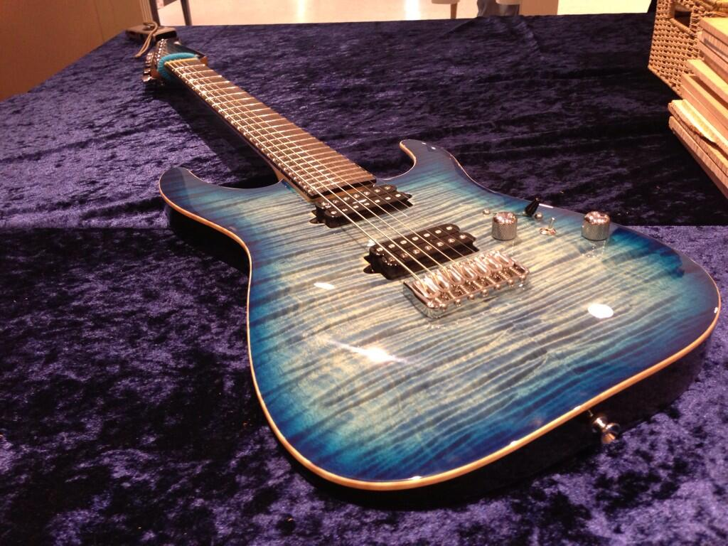 T's Guitars 7弦 27Inch(with Bare Knuckle ColdSweat)