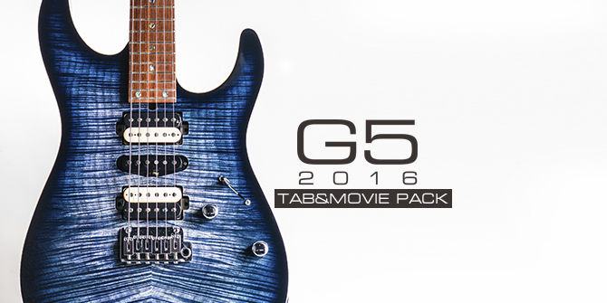 G5 2016 TAB&MOVIE PACKリリース