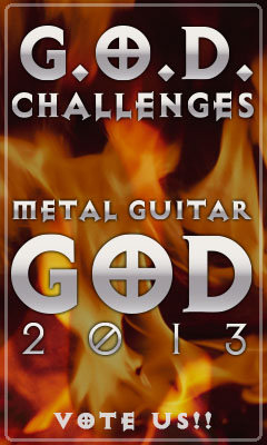 G.O.D. Challenges METAL GUITAR GOD 2013