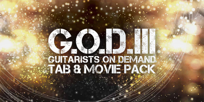 G.O.D.III TAB&MOVIE PACK発売